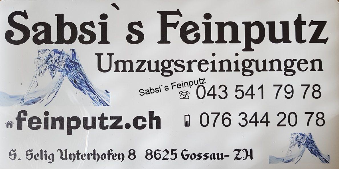 Sabsi`s Feinputz